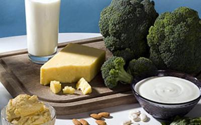 Algunos alimentos con calcio